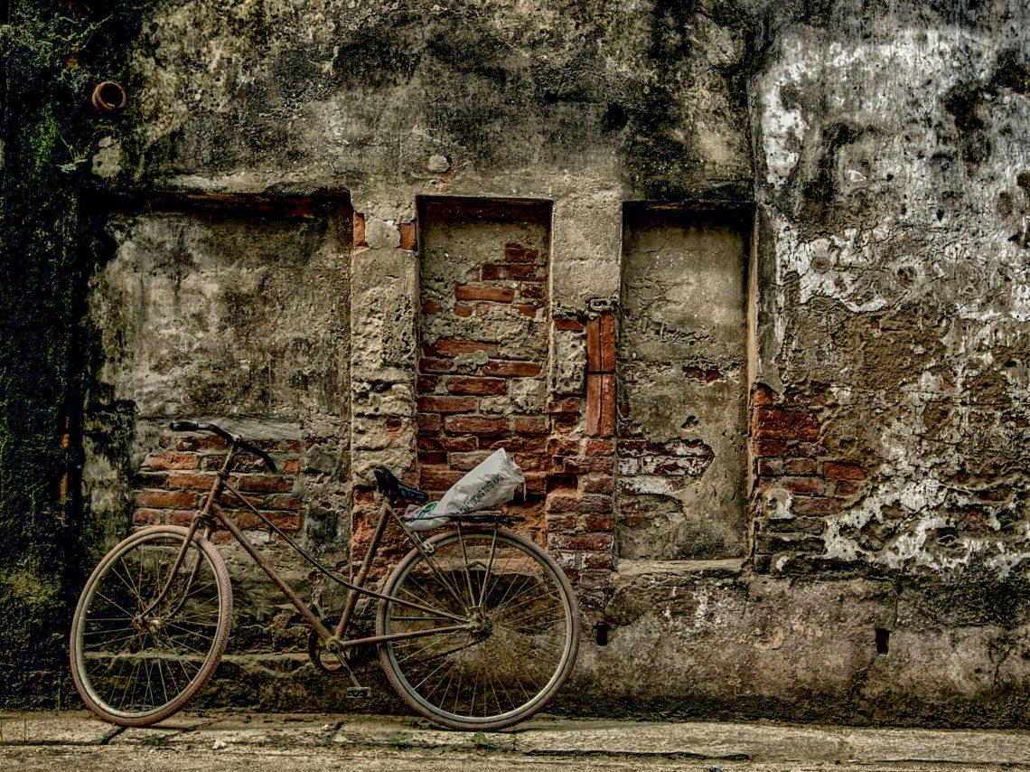 Jadąc tego ranka na rowerze…