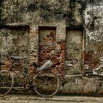 Jadąc tego ranka na rowerze...
