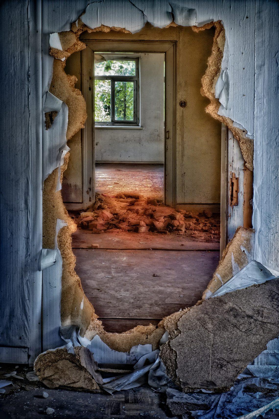 Jeśli nie mogę przejść przez jedne drzwi…