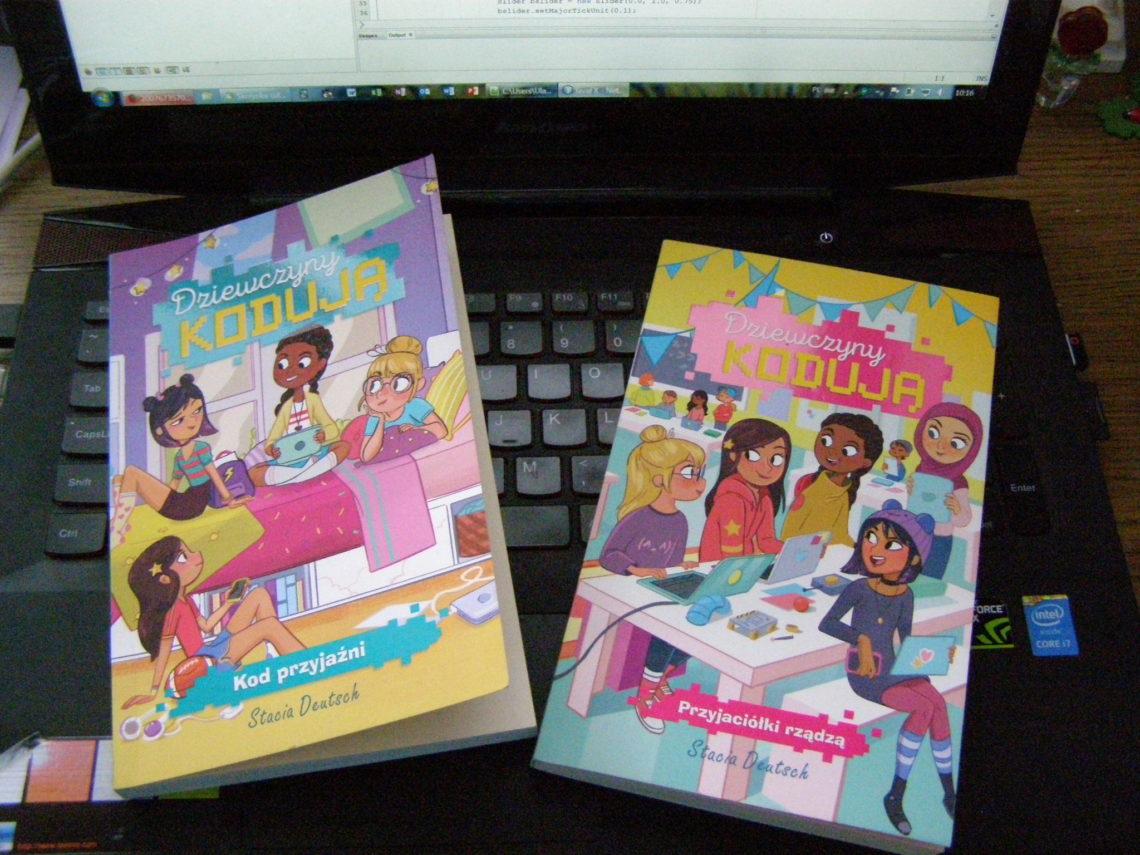 Dziewczyny kodują, czyli powieści dla przyszłych programistek