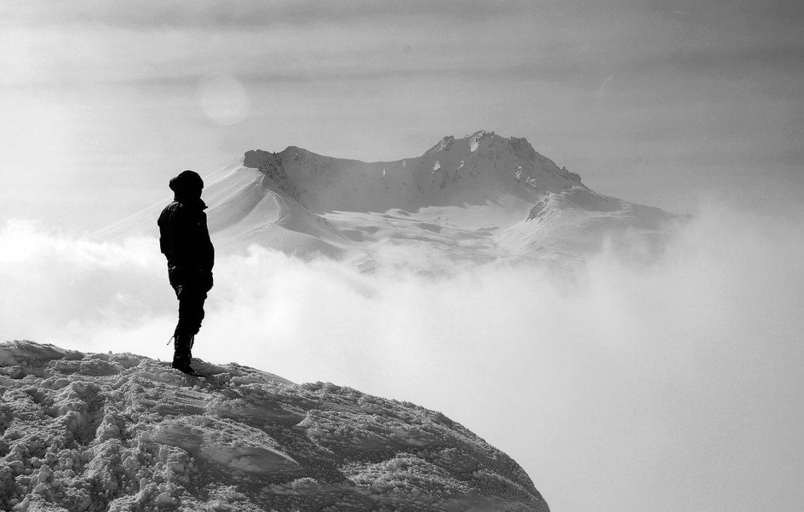 Większą radość daje zdobycie szczytu górskiego…