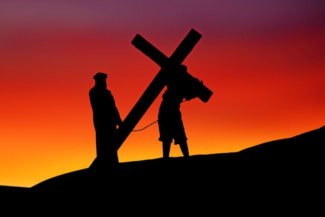 Jezus w drodze na Kalwarię