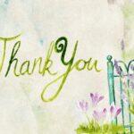 A wy tak rzadko umiecie dziękować