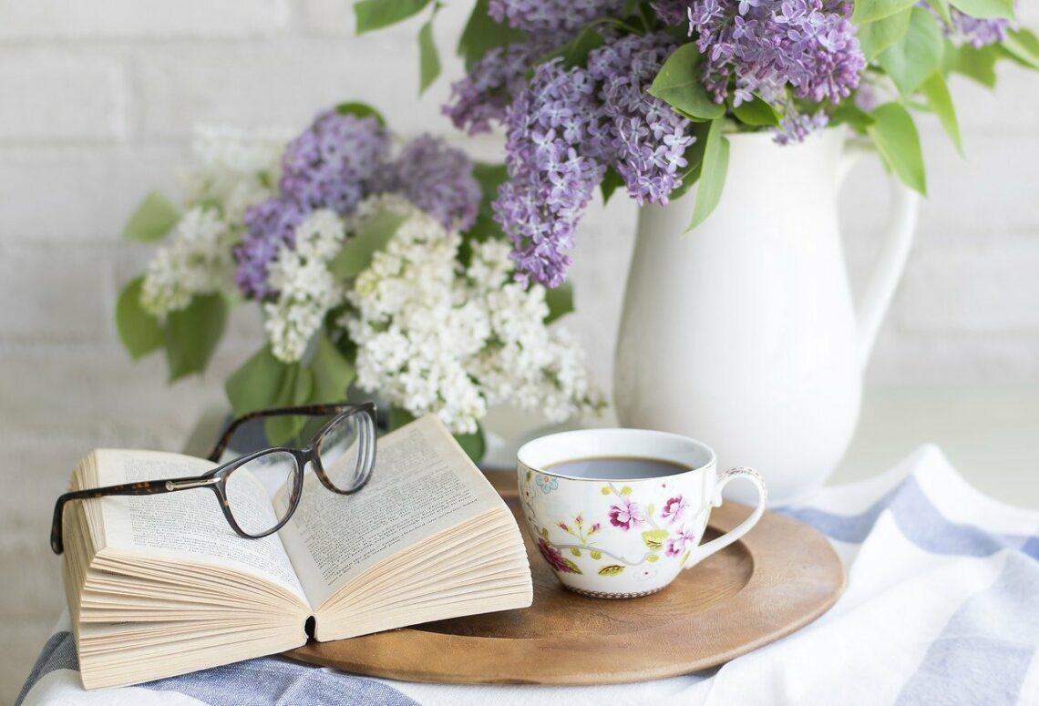 Książka – to mędrzec łagodny i pełen słodyczy