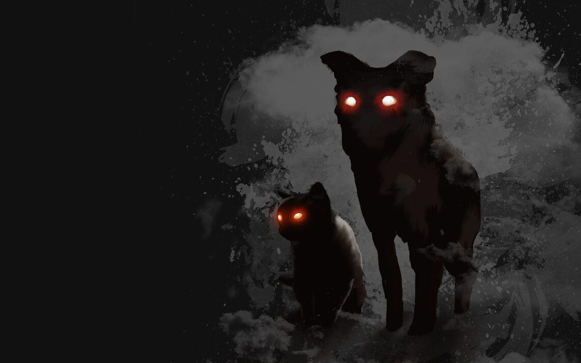 Ujrzałam cały tłum tych duchów nieczystych