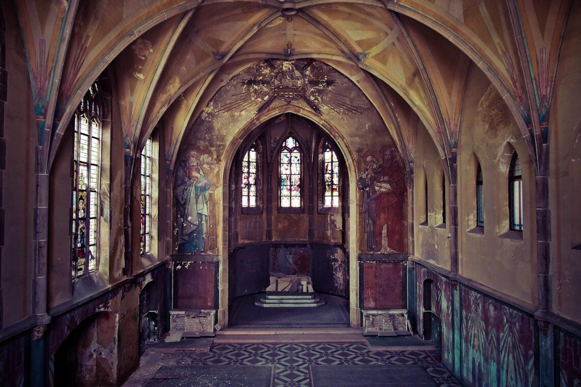 Ja już widziałam puste kościoły
