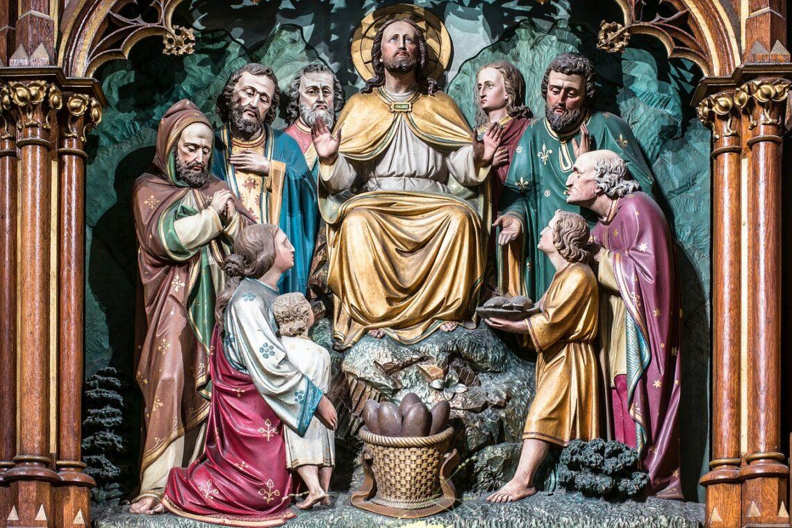 Tak Jezus obchodził wszystkie miasta i wioski